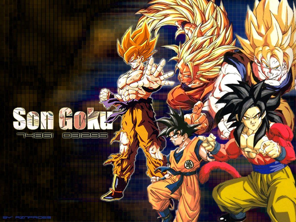Dragon Ball Z Hd Wallpapers And Backgrounds 1024x768