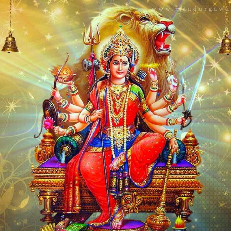 Maa Durga K Hd Desktop Wallpaper For K Ultra Hd Tv Tablet