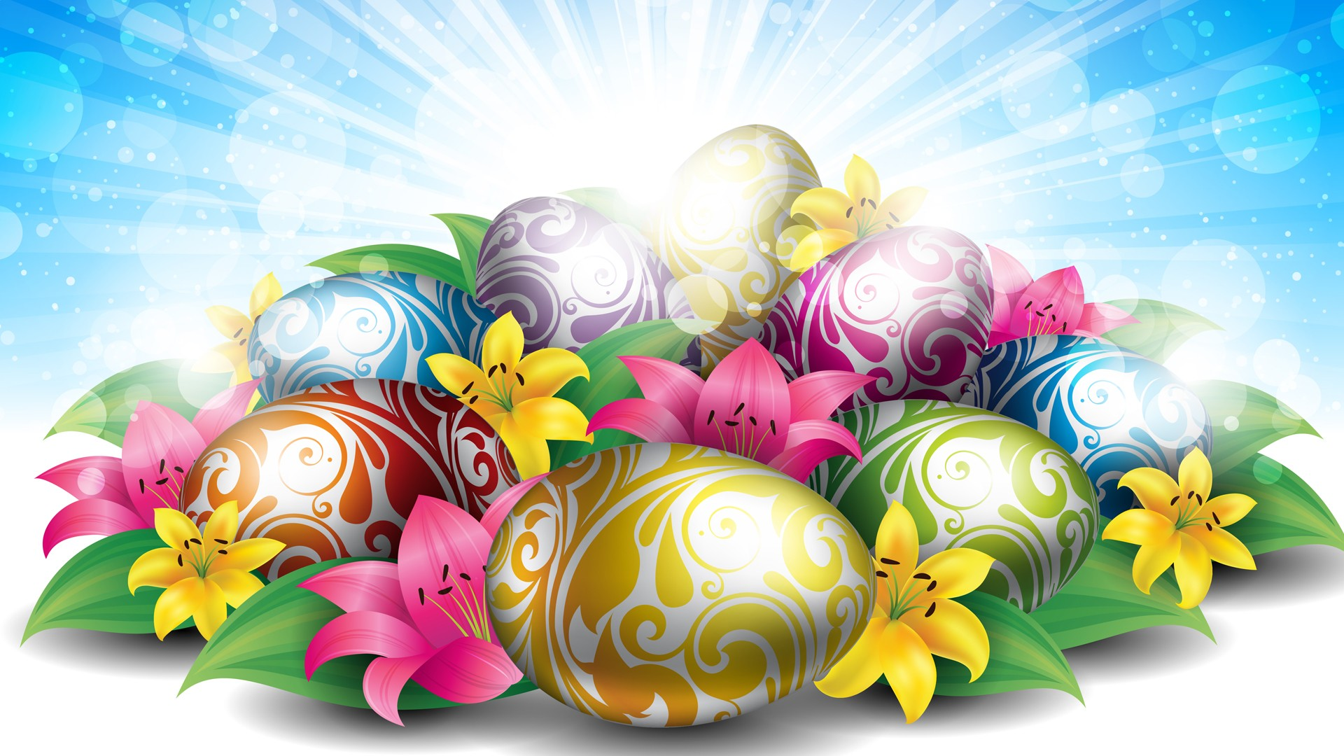 Easter HD Wallpapers  Backgrounds  Wallpaper  1920x1080