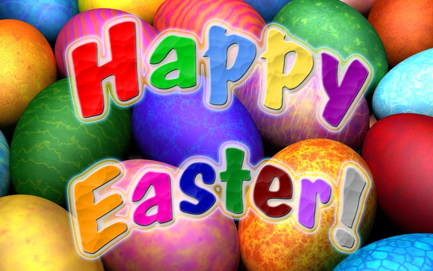 D Happy Easter Wallpapers Free Download HD For Desktop IPhone 1440x900