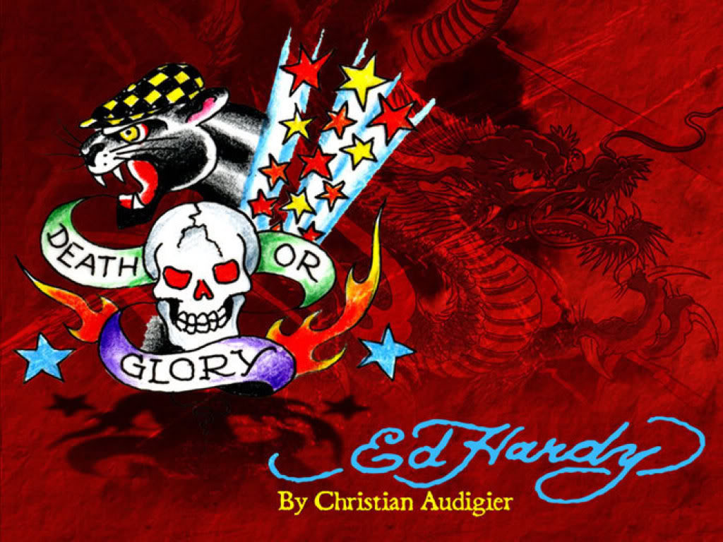 Ed Hardy Backgrounds  WallpaperPulse 1024x768