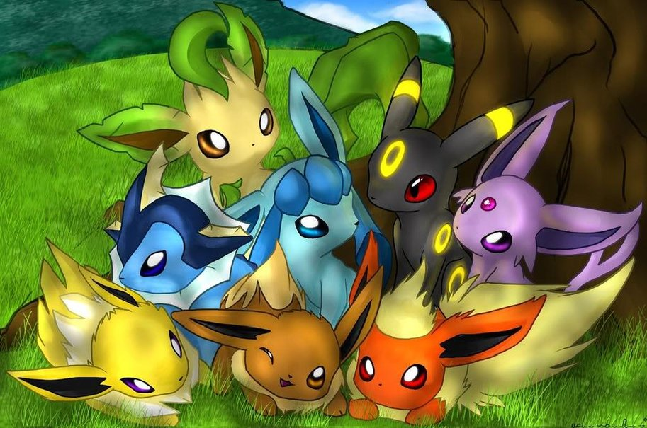 Hd Pokemon Phone Eevee Backgrounds Pixelstalk Eevee Evolutions Clan