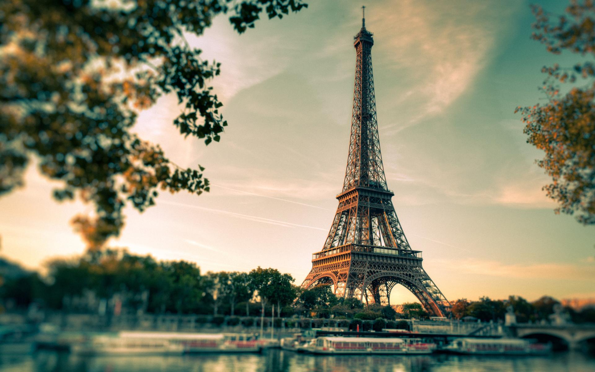Eiffel Tower Wallpaper Hd Pixelstalk Wallpaper Iphone Spring Pinterest Bon Voyage Pink Trees And 1920x1200