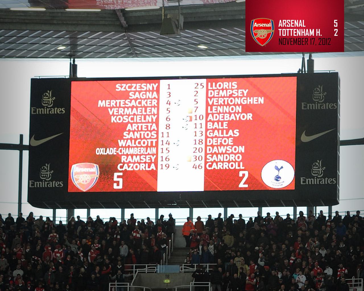 Arsenal Emirates Stadium Wallpaper Hd Football Wallpapers 1280x1024