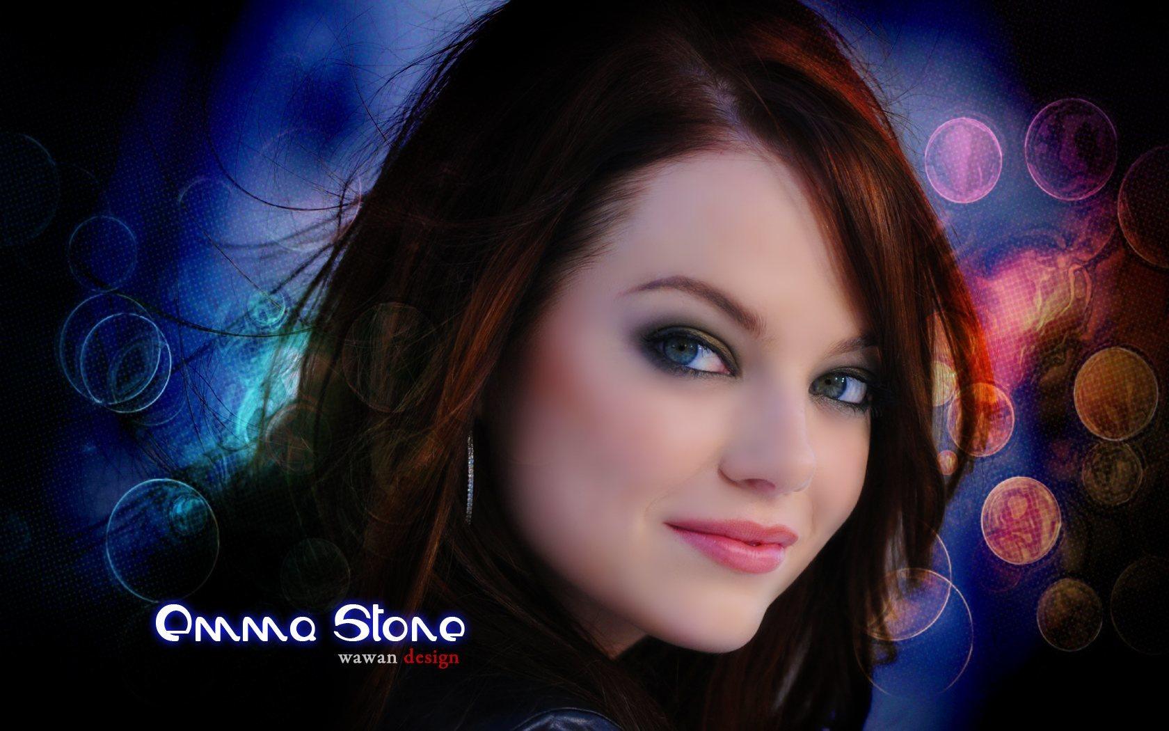 Emma Stone Hd Desktop Wallpaper Widescreen High Definition 1680x1050