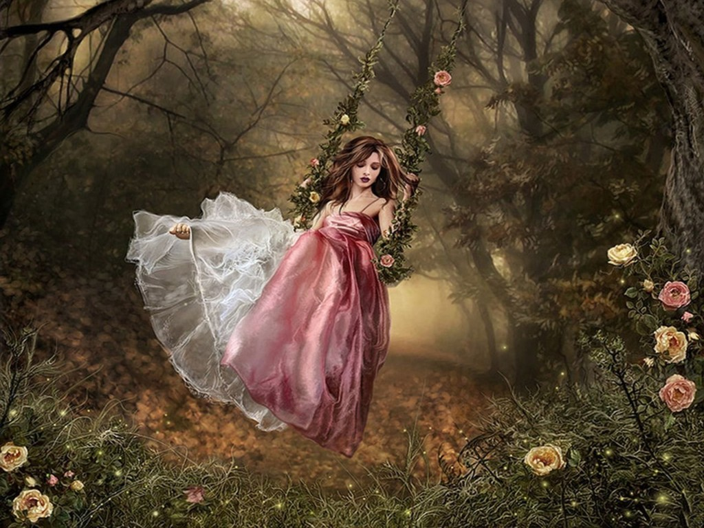 Wonderful forest fairy wallpapers te hd images fairy collection 1024x768 voltagebd Gallery