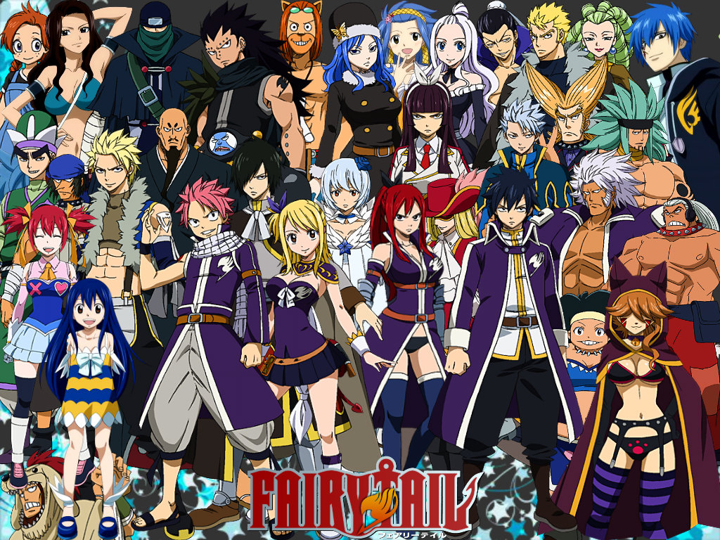 Fairy Tail Wallpapers High Quality  Download Free 1024x768