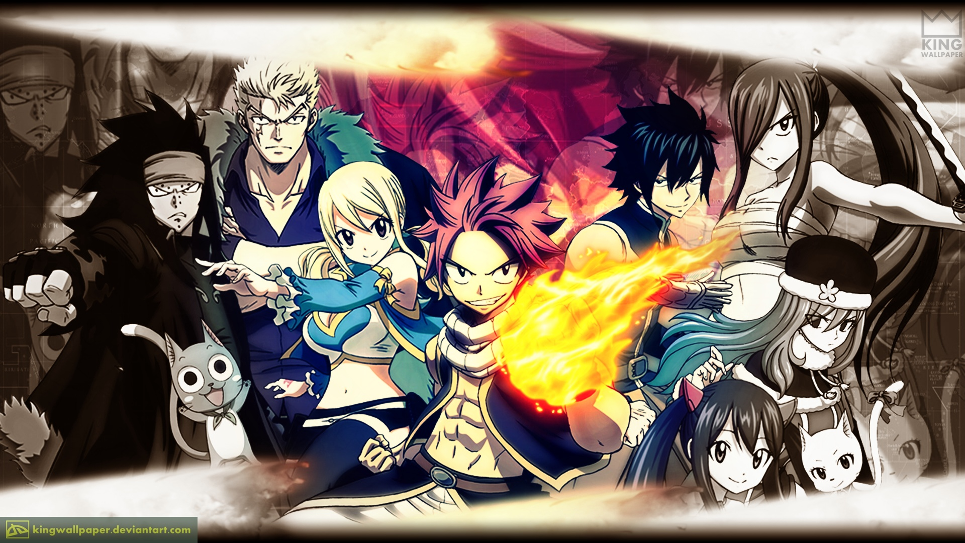 Fairy Tail Computer Wallpapers, Desktop Backgrounds   1920x1080
