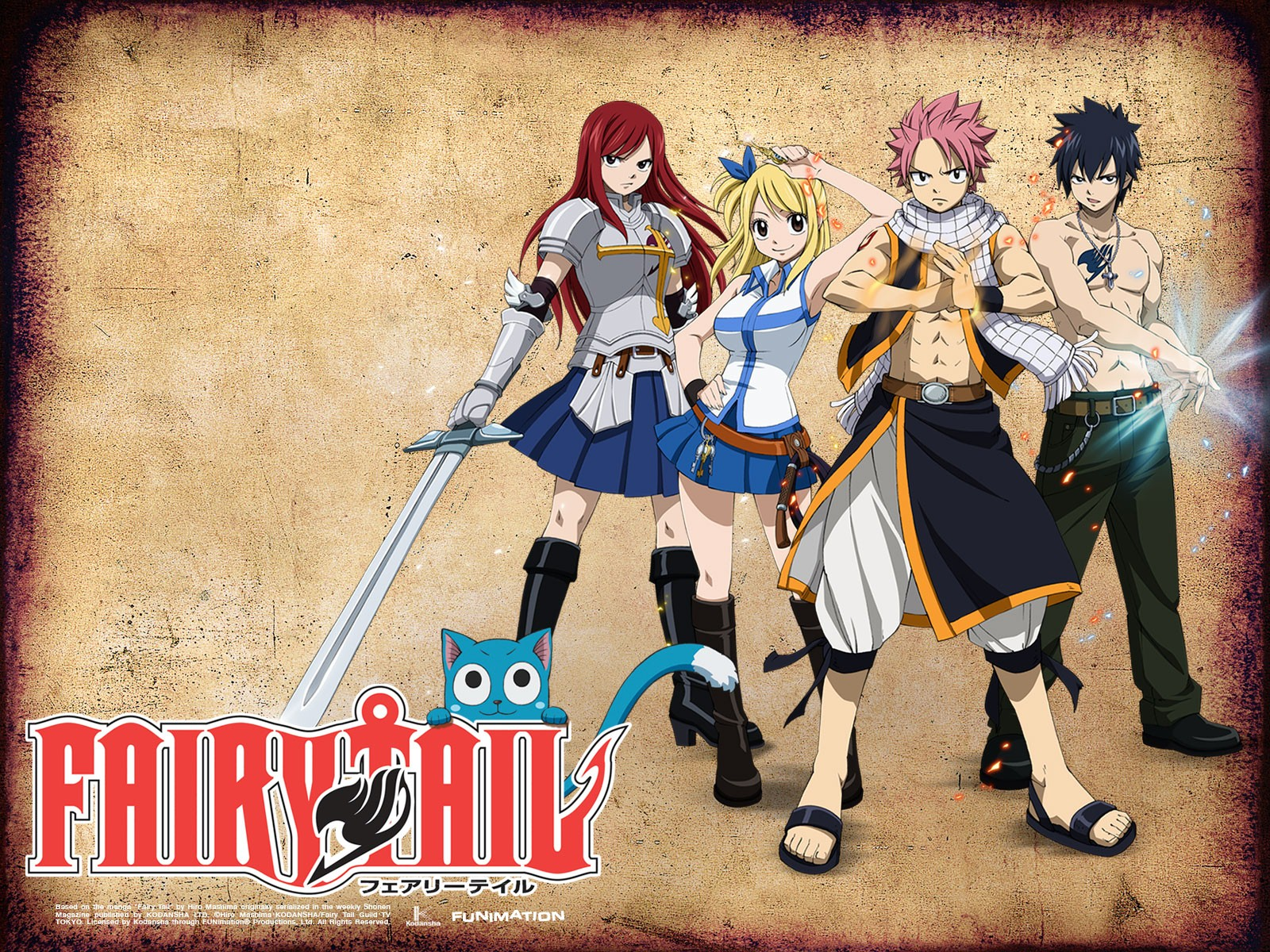 Fairy Tail Wallpapers HD  Wallpaper  1600x1200