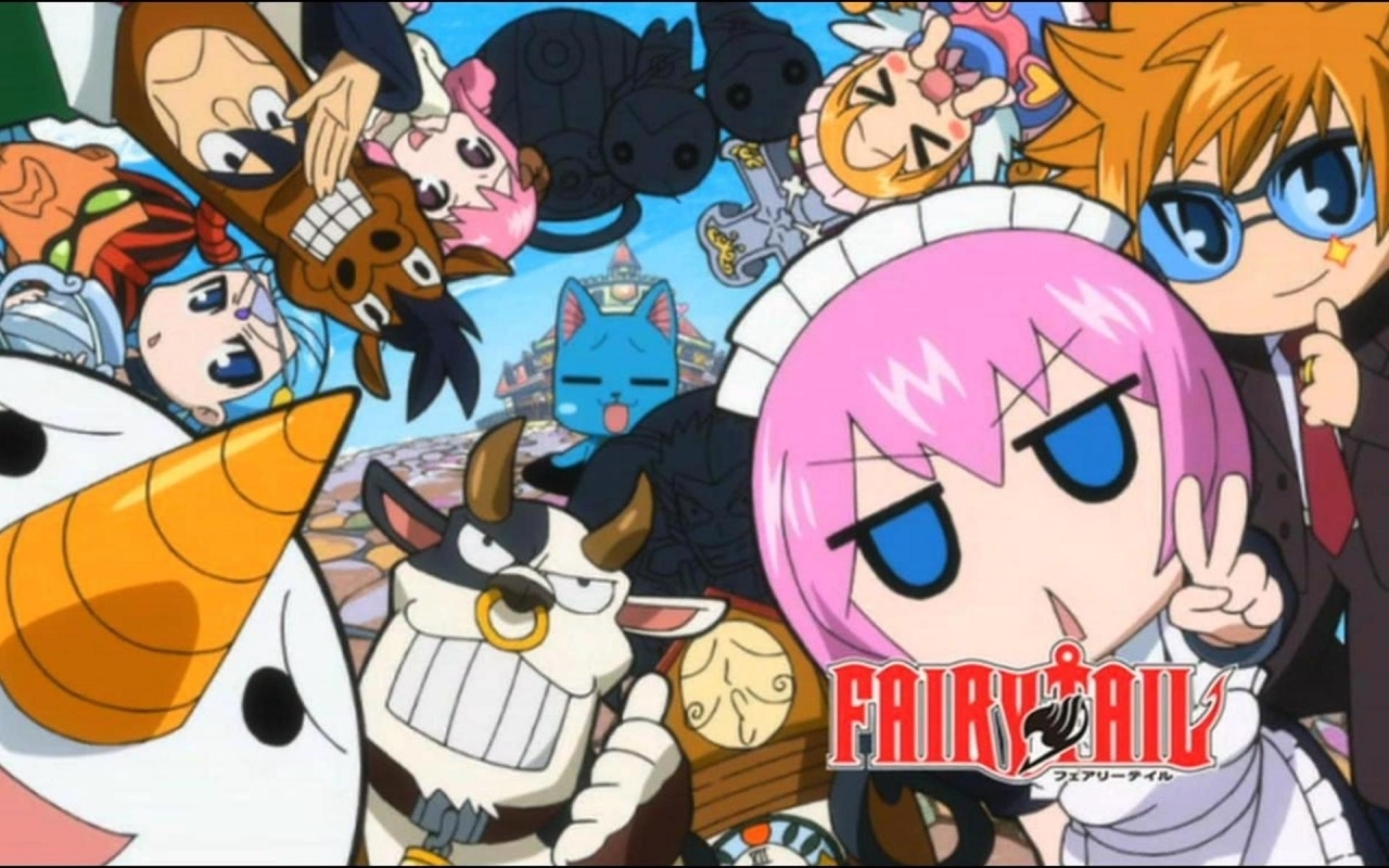 Fairy Tail HD Wallpapers  Backgrounds  Wallpaper  1280x800