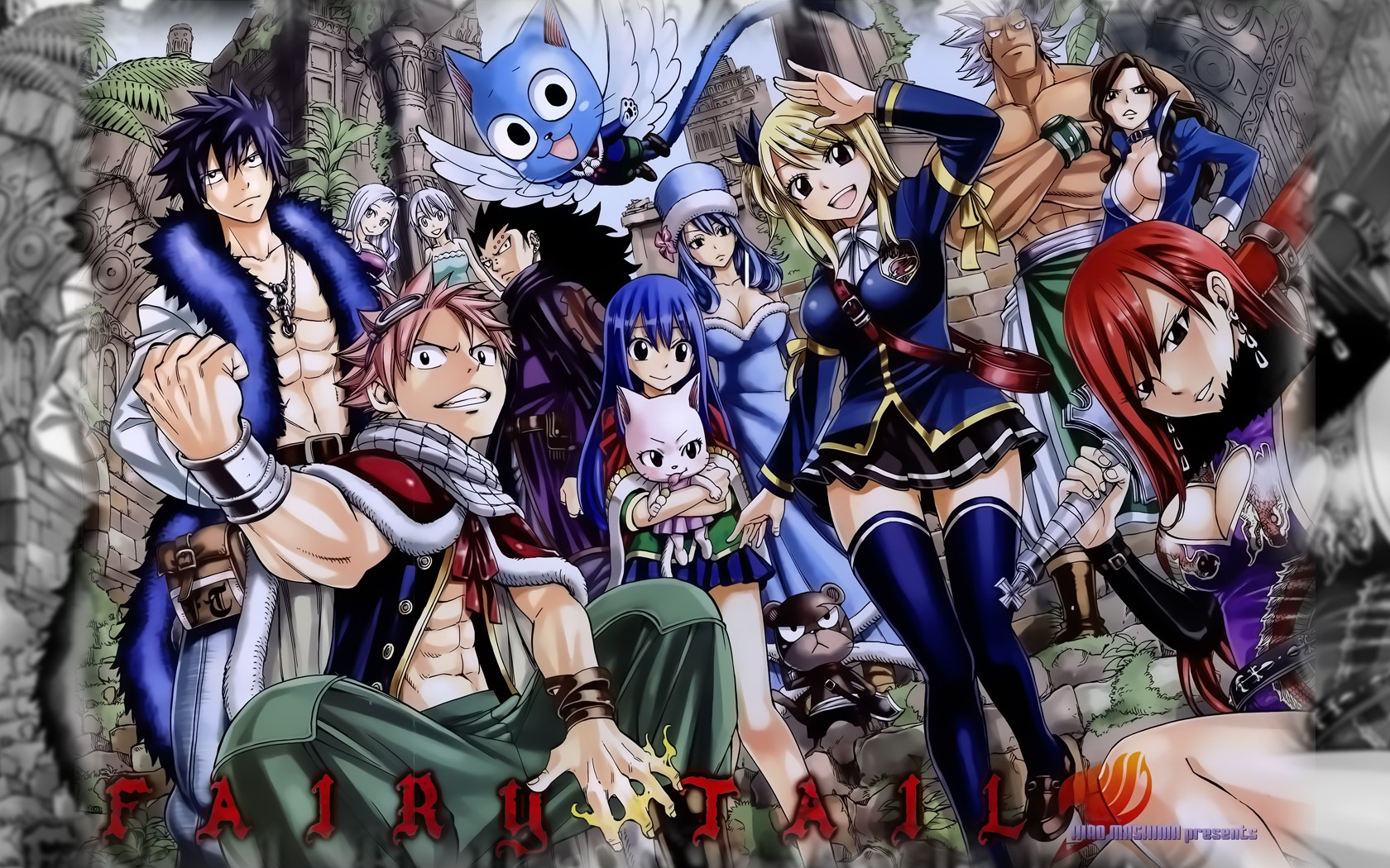 Fairy Tail HD Wallpapers Backgrounds Wallpaper Page 1680x1050