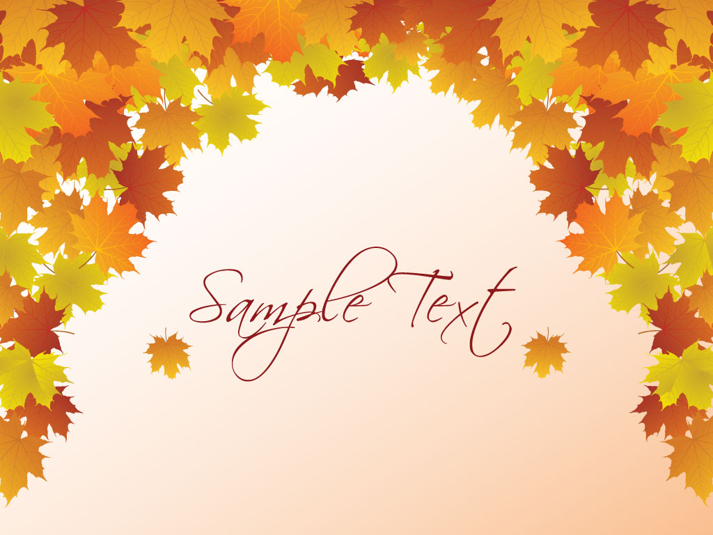 Fall Leaves Backgrounds   1024x768