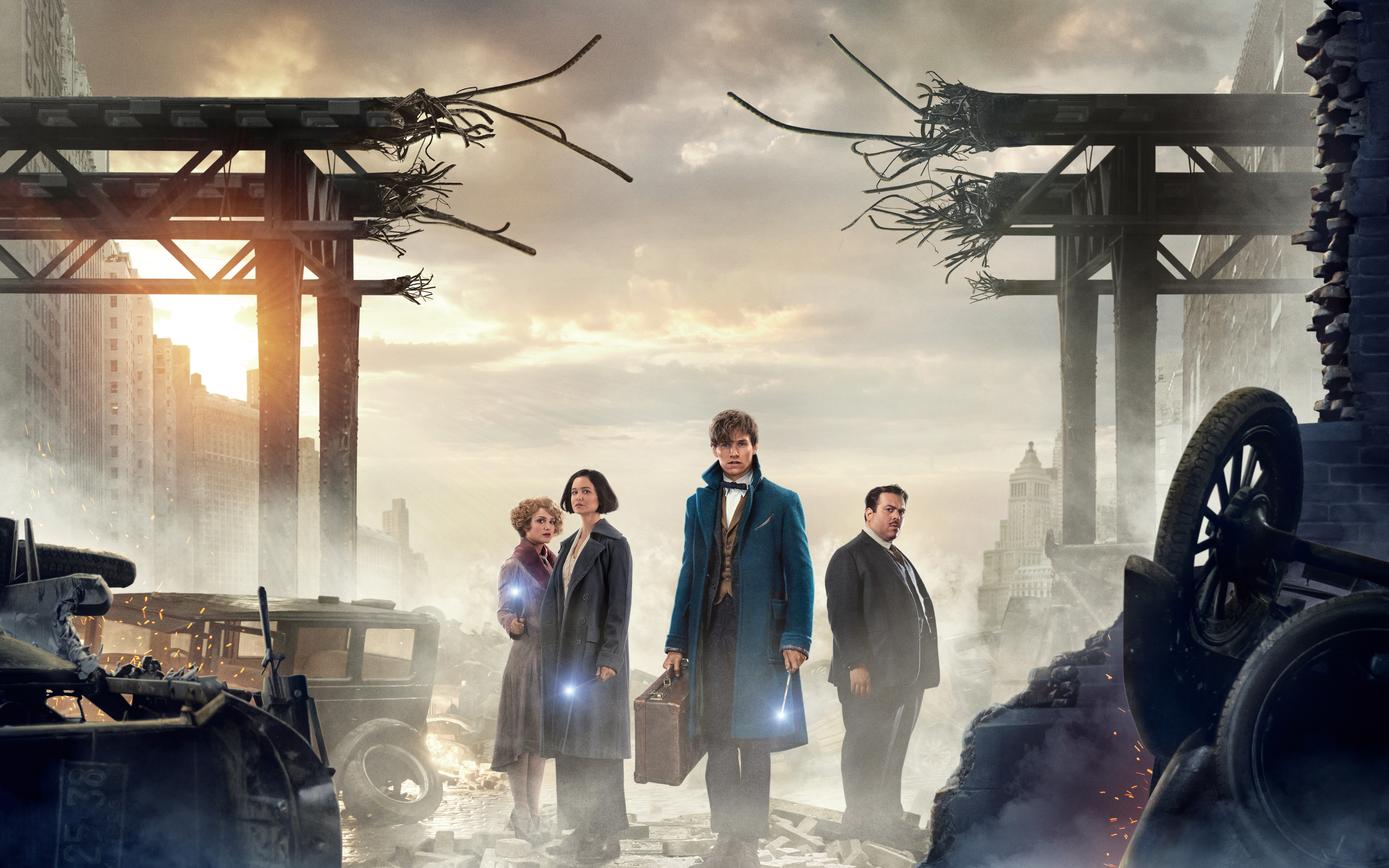 Wallpaper Fantastic Beasts and Where to Find Them HD Movies
