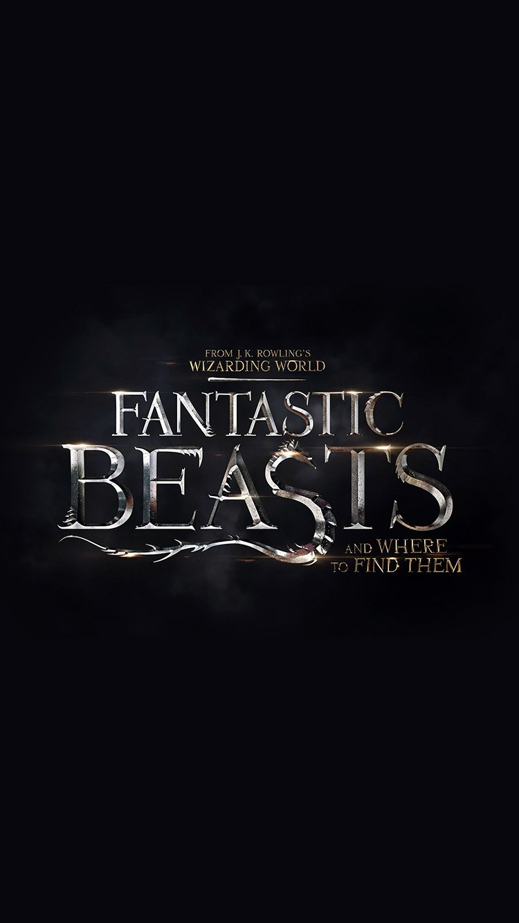 Fantastic Beasts iPhone Wallpaper by LiverCookie on