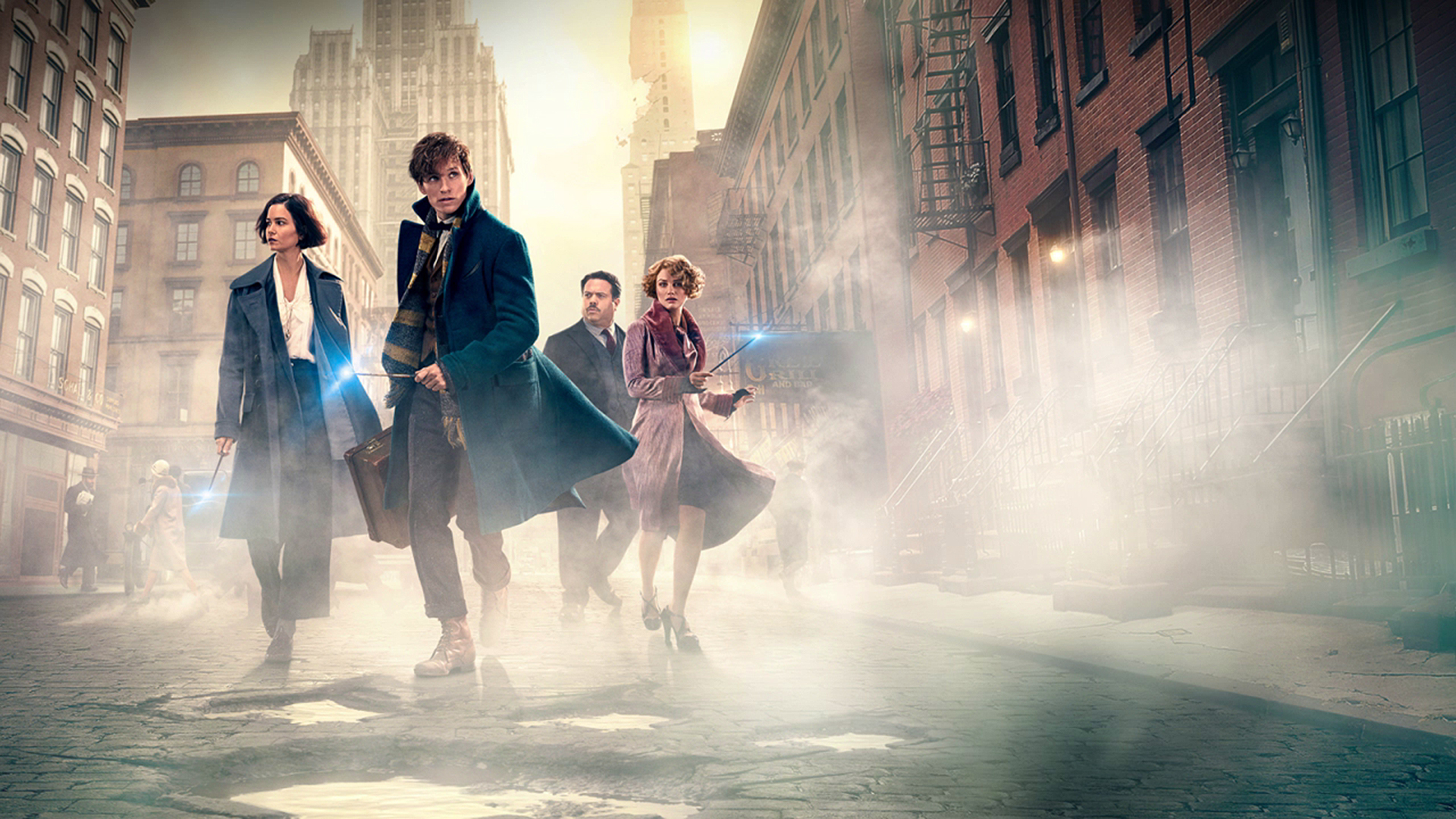 Wallpaper Thunderbird Fantastic Beasts and Where to Find Them HD