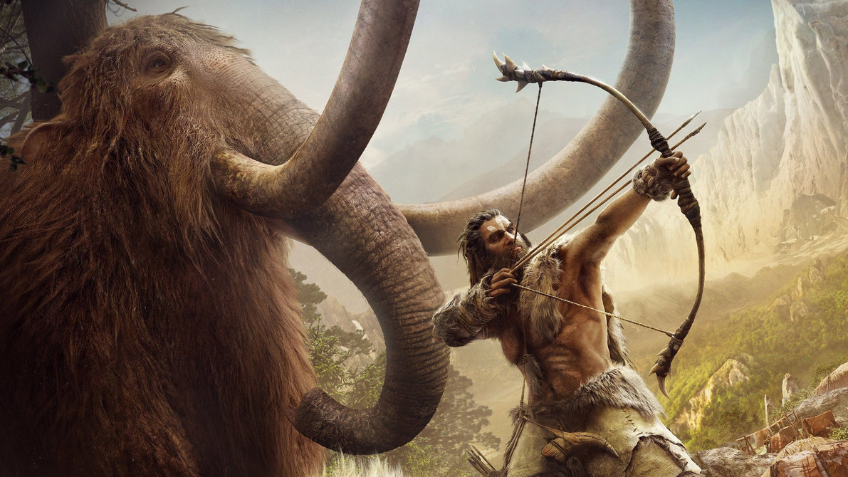 Far Cry Primal Wallpaper Games Action Far Cry Primal Mammoths