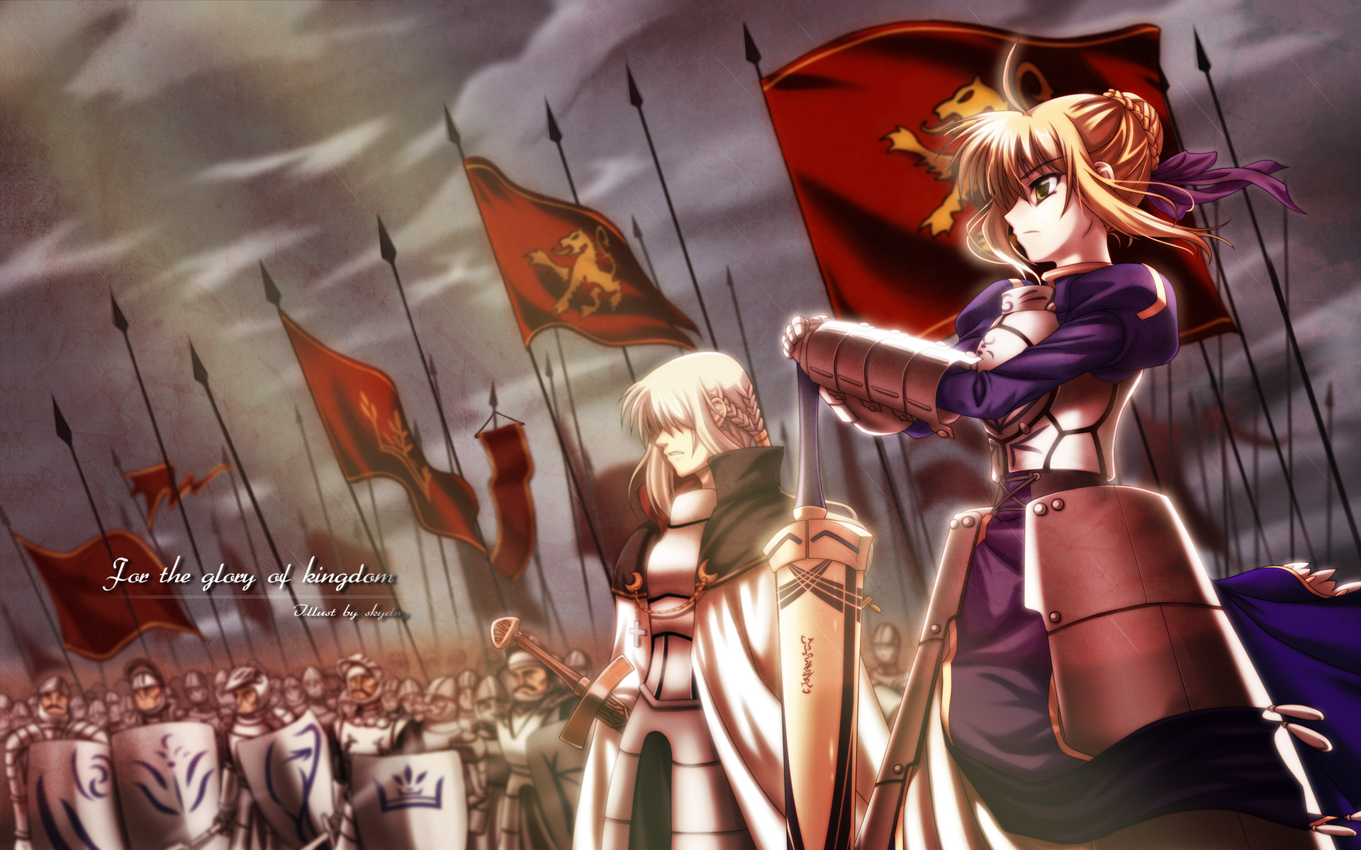 Saber  Fate Stay Night Wallpaper 1920x1200