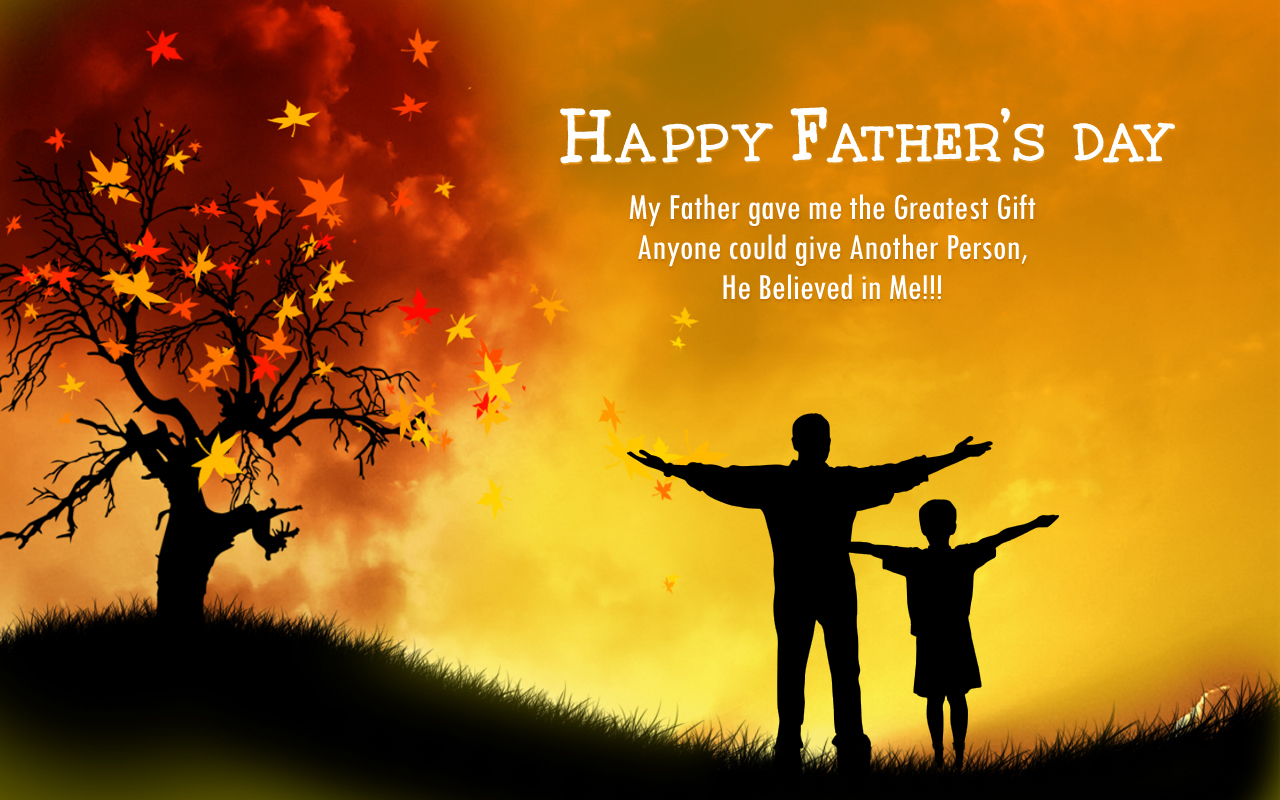 Happy Fathers Day Pictures, Phots, Images, Wallpapers Free 1280x800