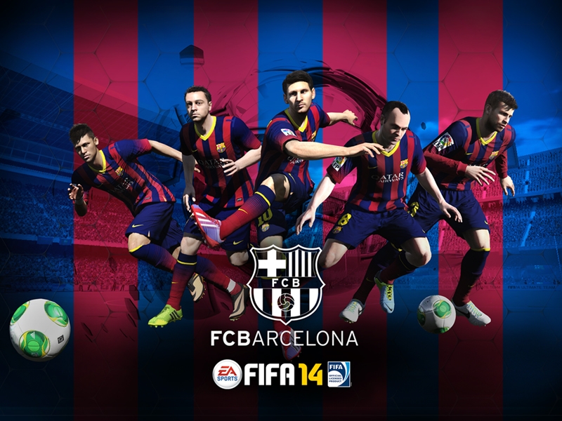 Fc Barcelona By Yakub Nihat Hd Desktop Wallpaper High Definition 800x600