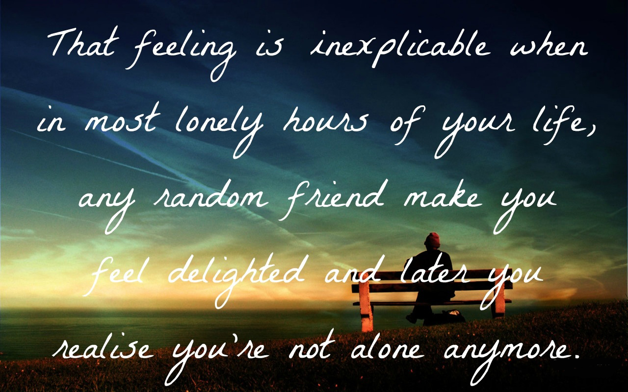 Alone Wallpapers  Wallpaper  1280x800