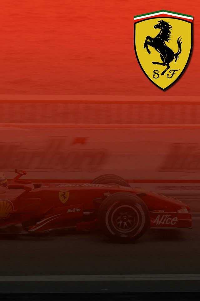 Collection Of Ferrari Logo Wallpaper Hd On HDWallpapers 640x960