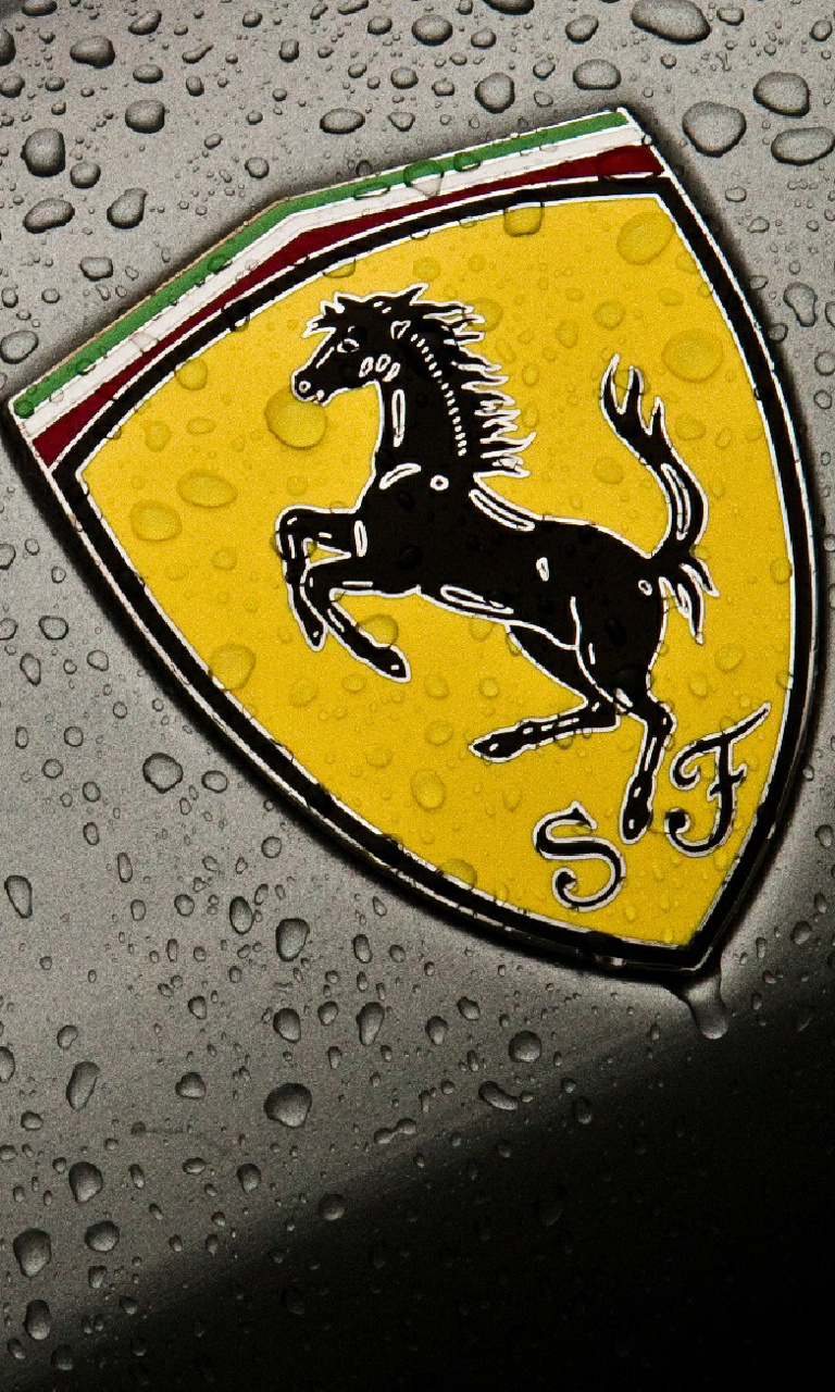Ferrari F Car Mobile Phone Wallpaper Id 768x1280