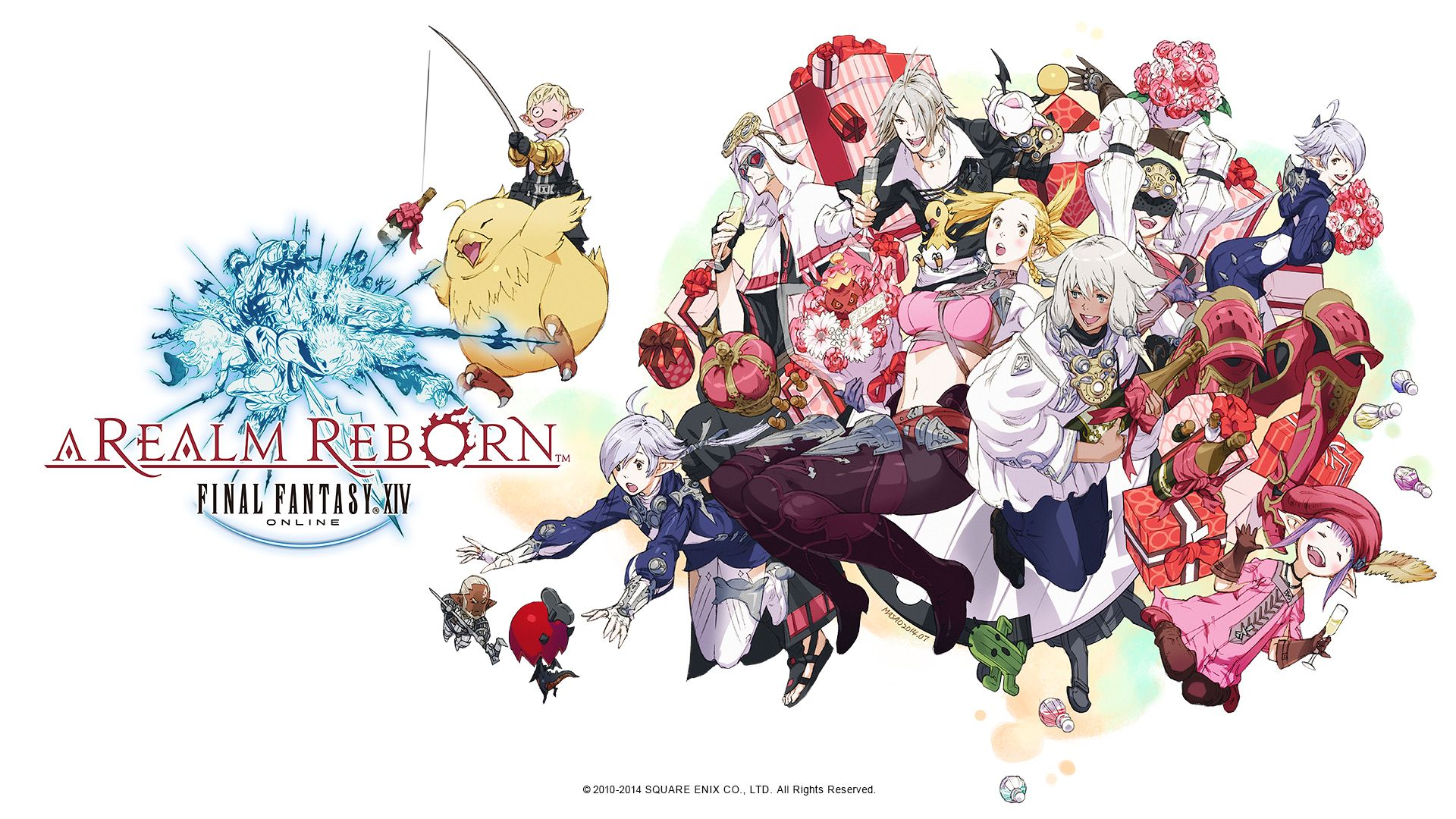 Final Fantasy A Realm Reborn Wallpapers Group