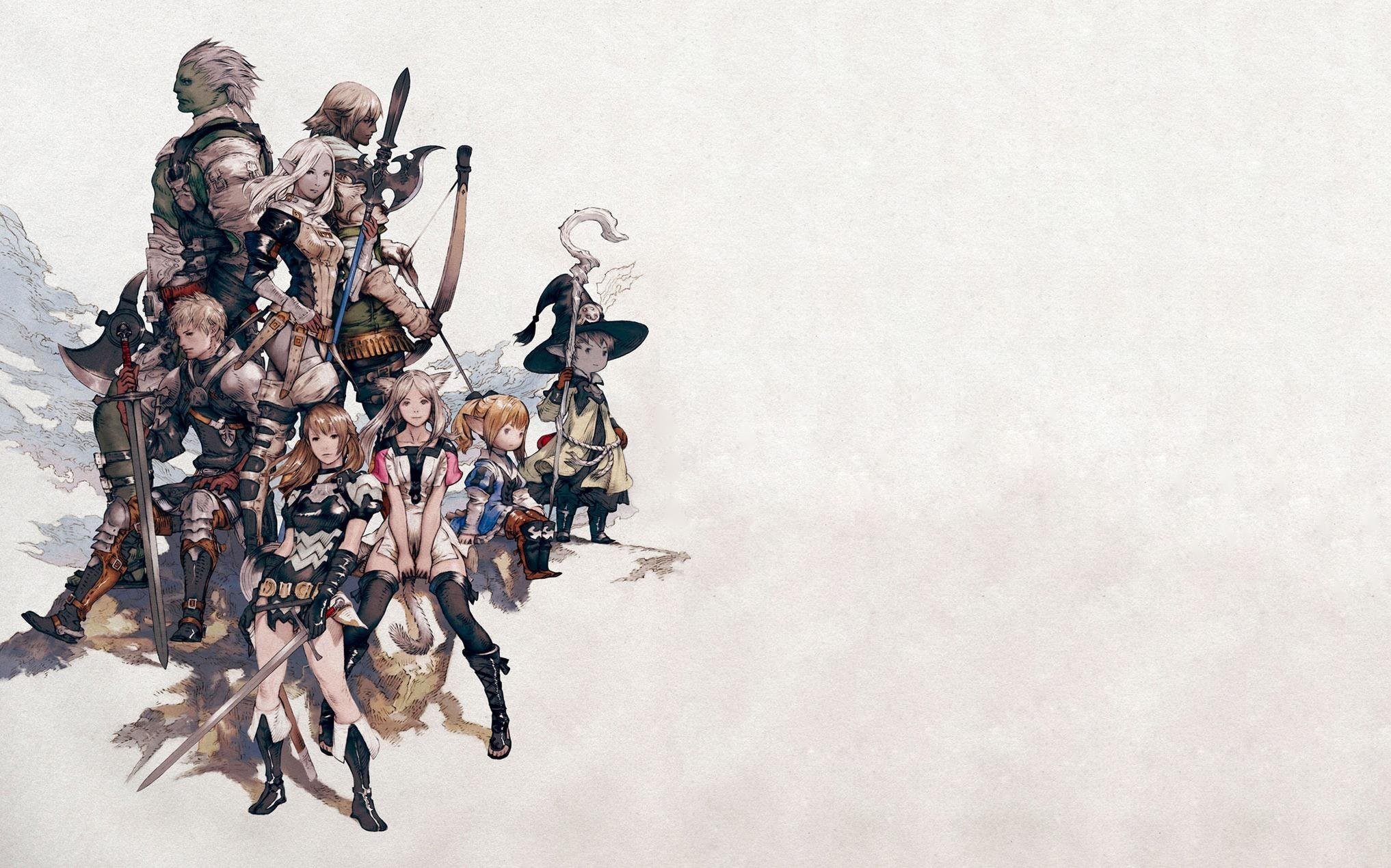 Final Fantasy XIV Wallpaper  MMORPG Photo