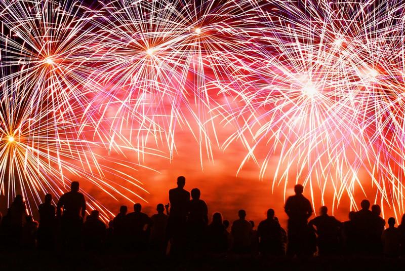 New Year Fireworks HD Desktop Wallpaper High Definition 800x535