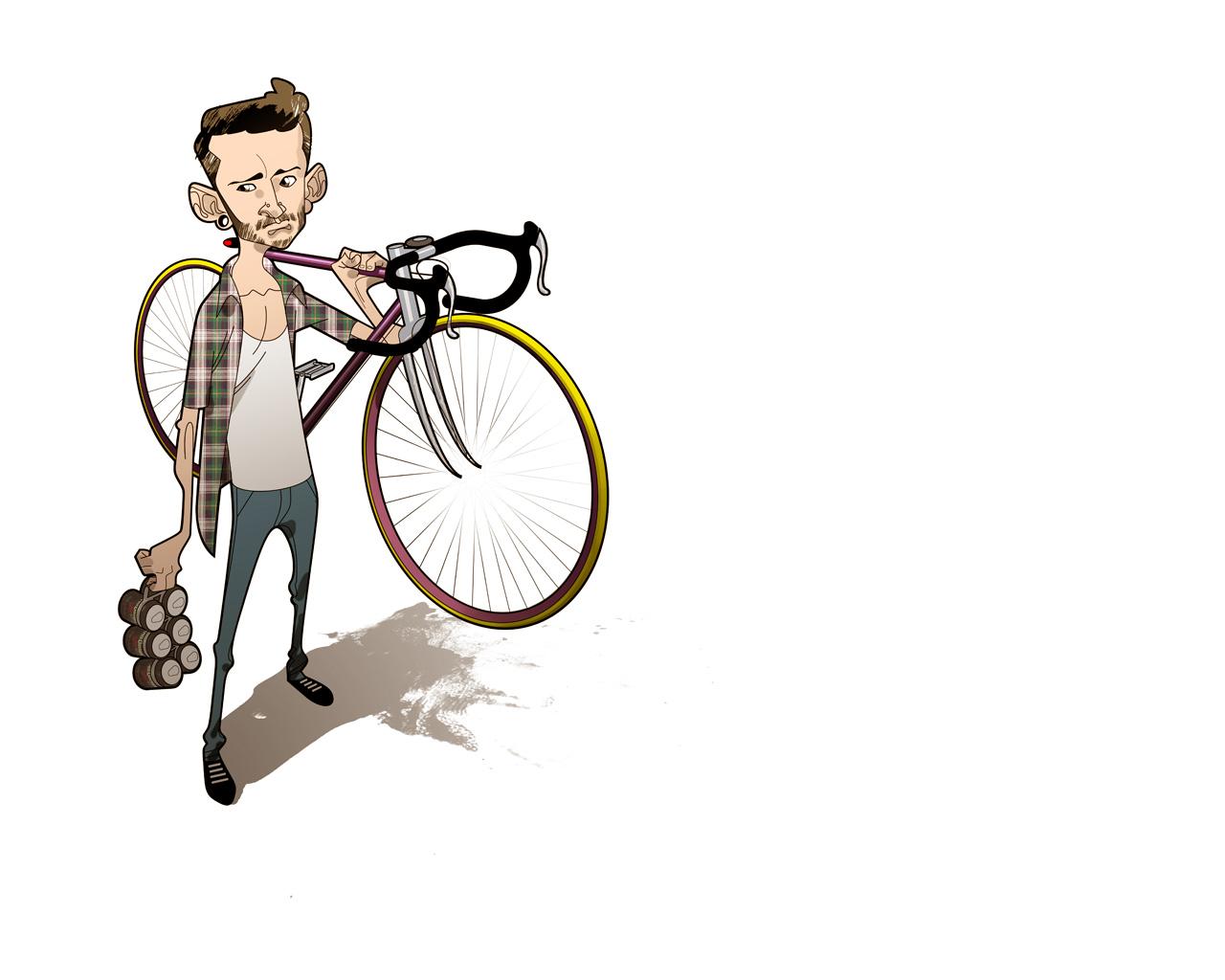 обои для Iphone Fixie Bikes 1280x1024