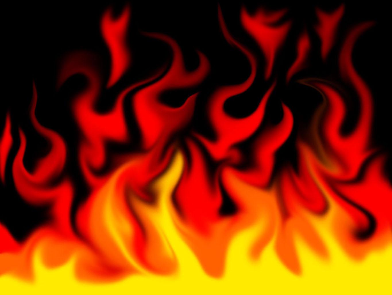 Flaming Skull Wallpapers Wallpaper 1365x1024