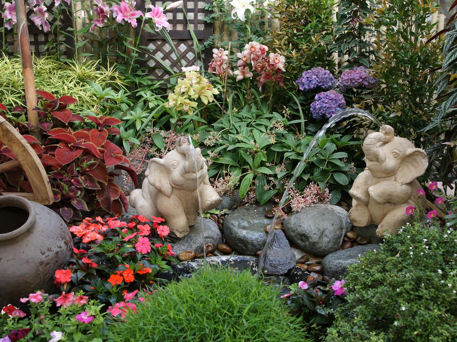 Картинки интерьер сада своими руками