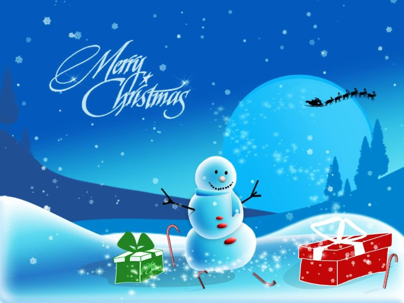Collection of Free Christmas Wallpaper For Pc on Spyder Wallpapers 800x600