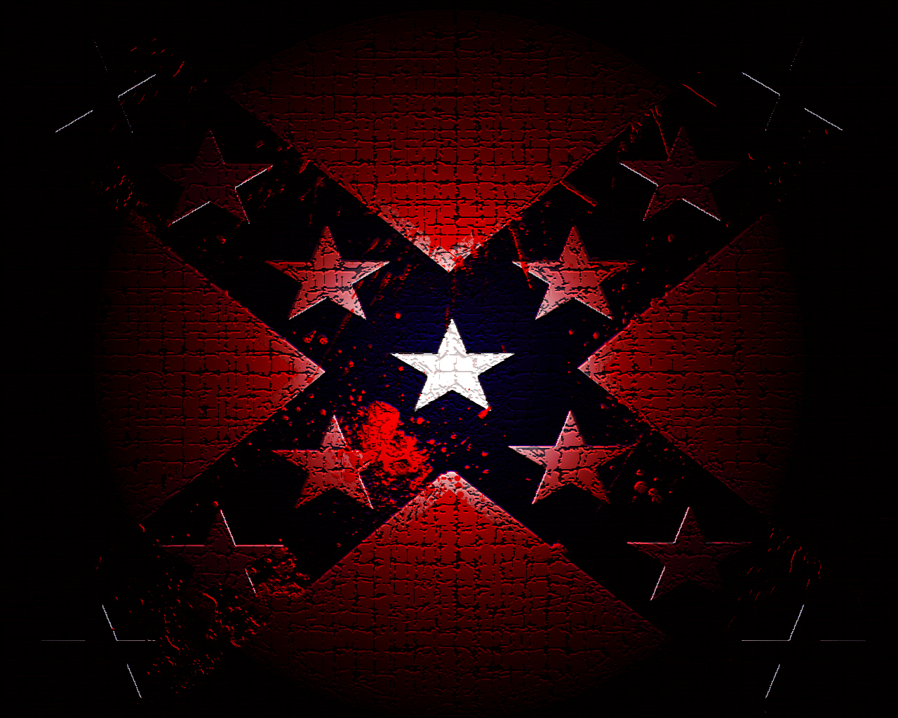 live rebel flag wallpapers group 1280x1024