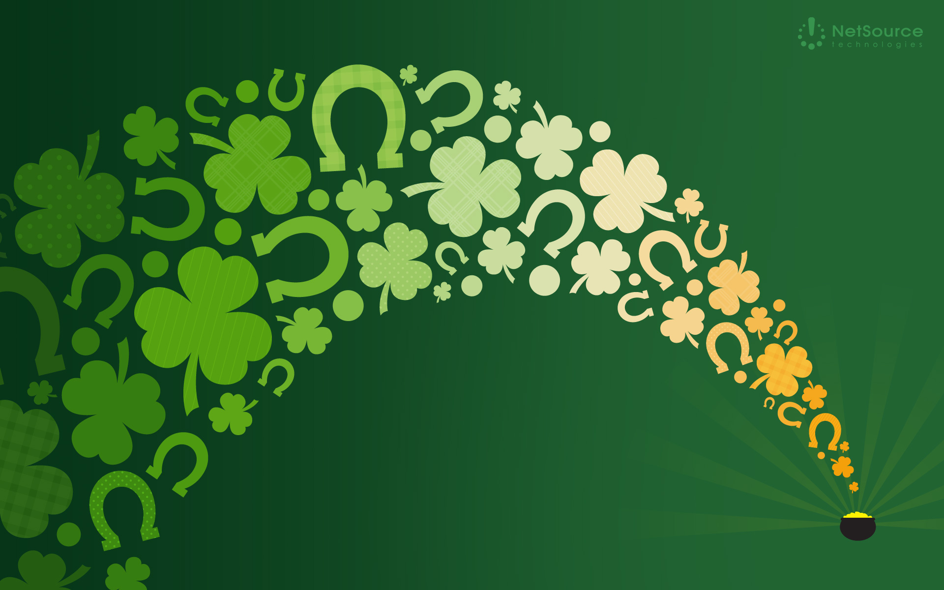 Happy St  Wallpapers Shamrock  Wallpaper  1920x1200