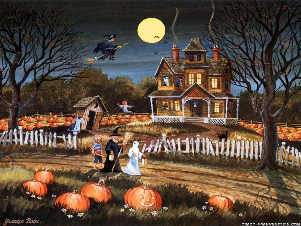 Halloween Live Wallpaper Free Android Apps On Google Play 1024x768