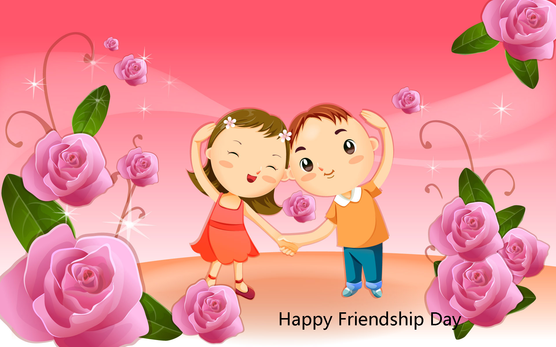 Happy Friendship Day Images Hd D Wallpapers Free Download 1920x1200