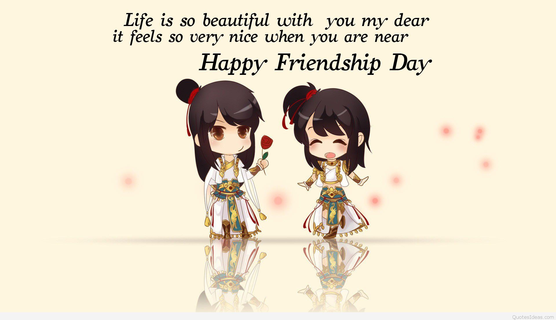 Thanks For Being My Friend Happy Friendship Day Best Wishes Quotes 1920x1107