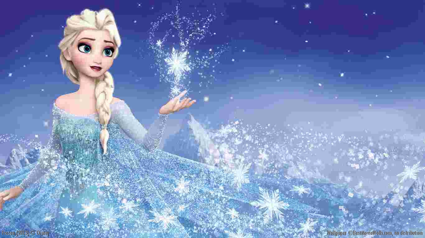 Frozen  Movie Wallpapers  WallpapersInk Disney Frozen Wallpapers  Desktop Backgrounds  Frozen Movie 1366x768