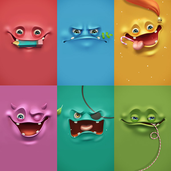 Funny Face Backgrounds