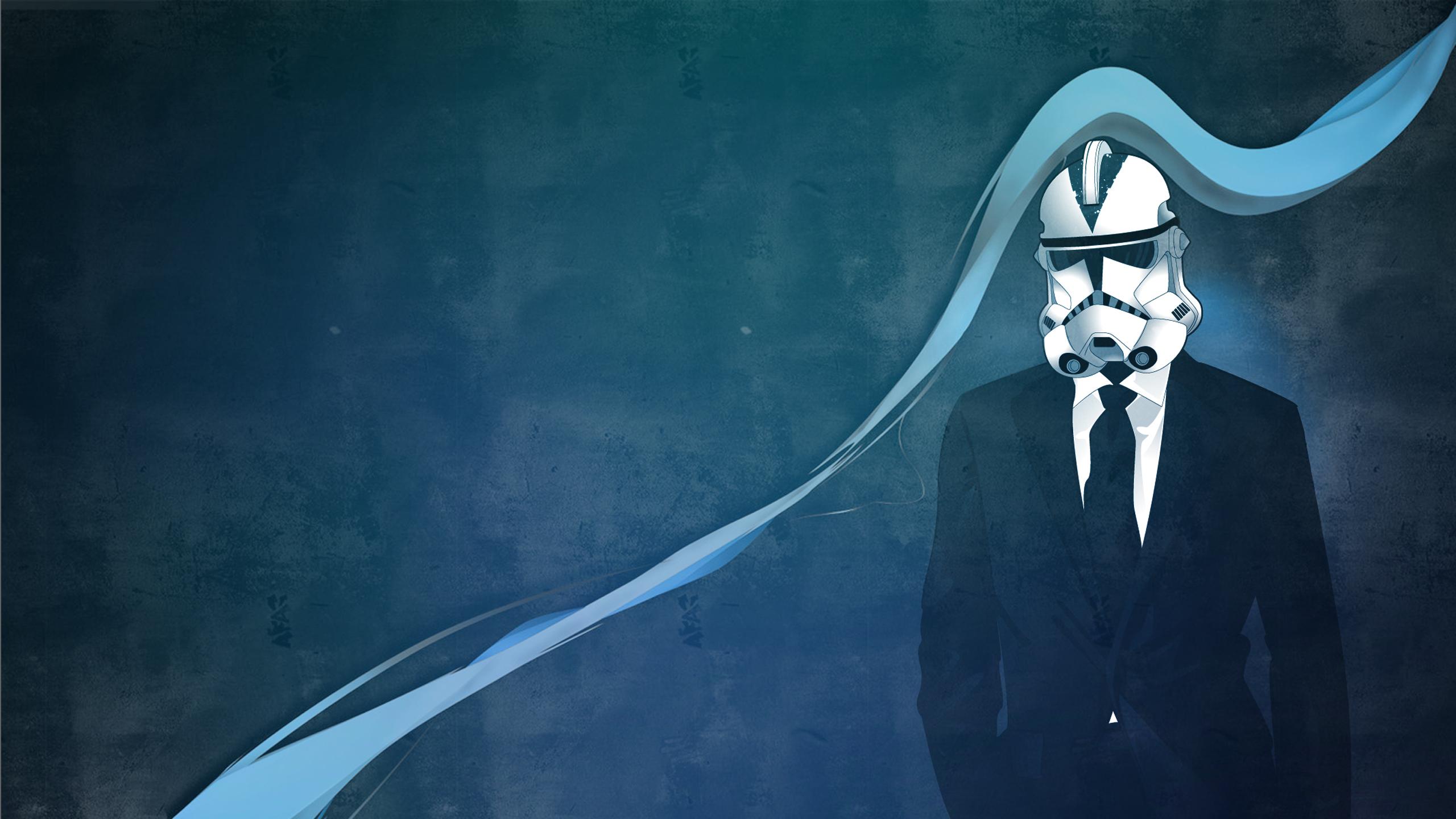 Darth Vader Death Star Funny Minimalistic Star Wars 2560x1440
