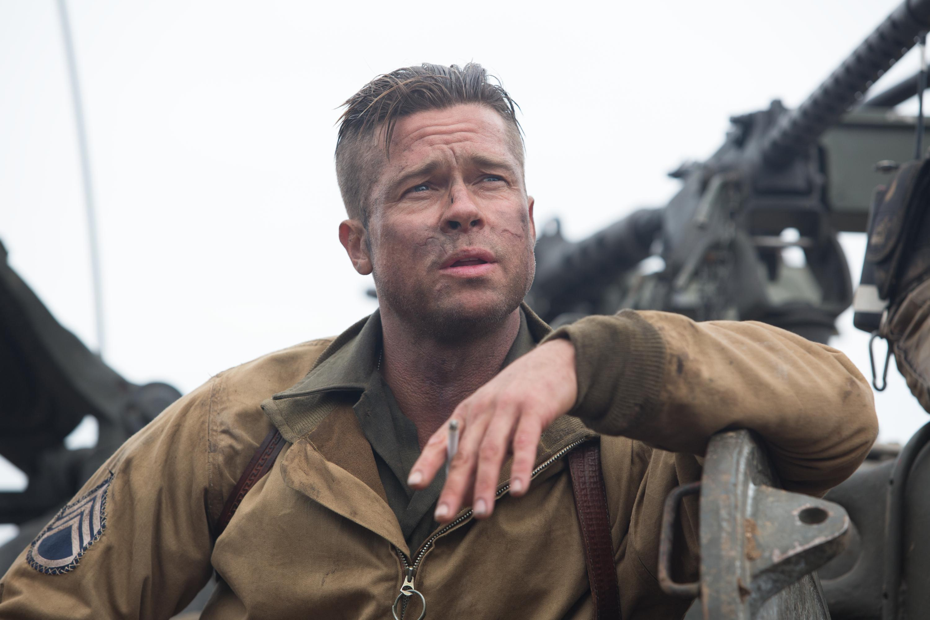 brad pitt fury movie hd wallpaper download high quality WW kr