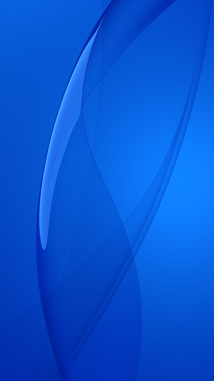 Blue Abstract Mobile Phone Wallpaper