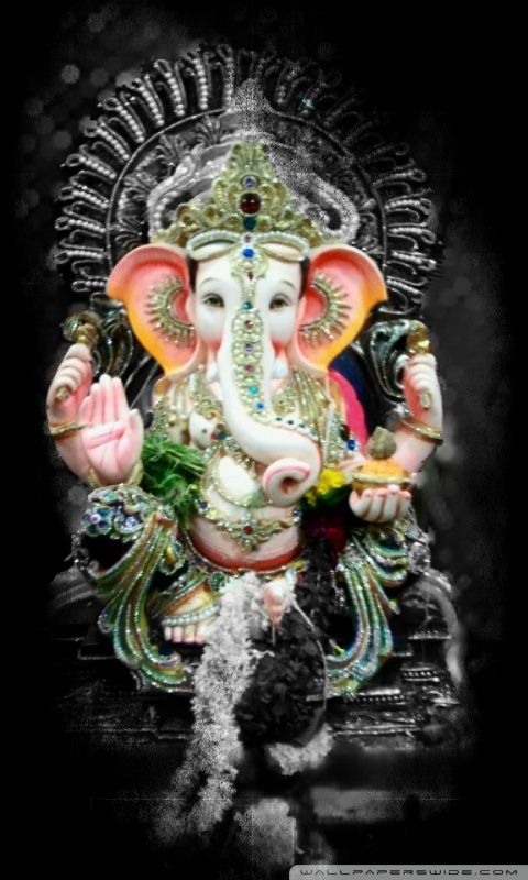 Ganesha wallpapers for mobile hd (50 Wallpapers ...