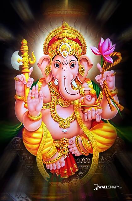 Lord Ganesh Pics Wallpapers - Wallpaper Dean