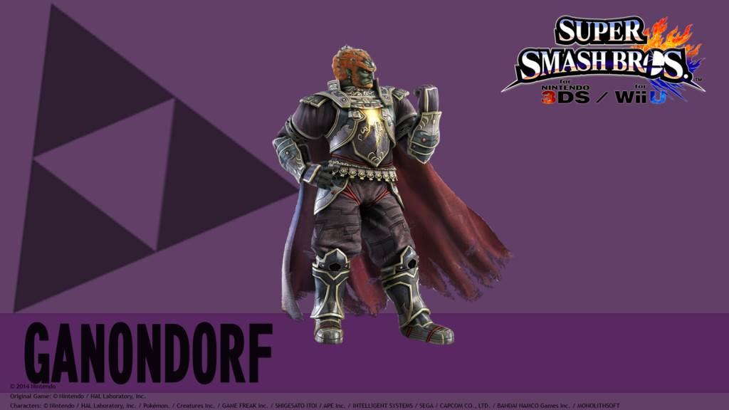 Ganondorf Wallpaper 1024x576