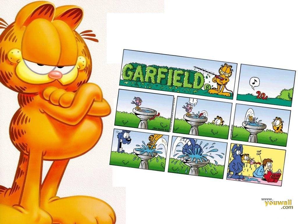 Garfield Hd Wallpapers And Backgrounds 1024x768