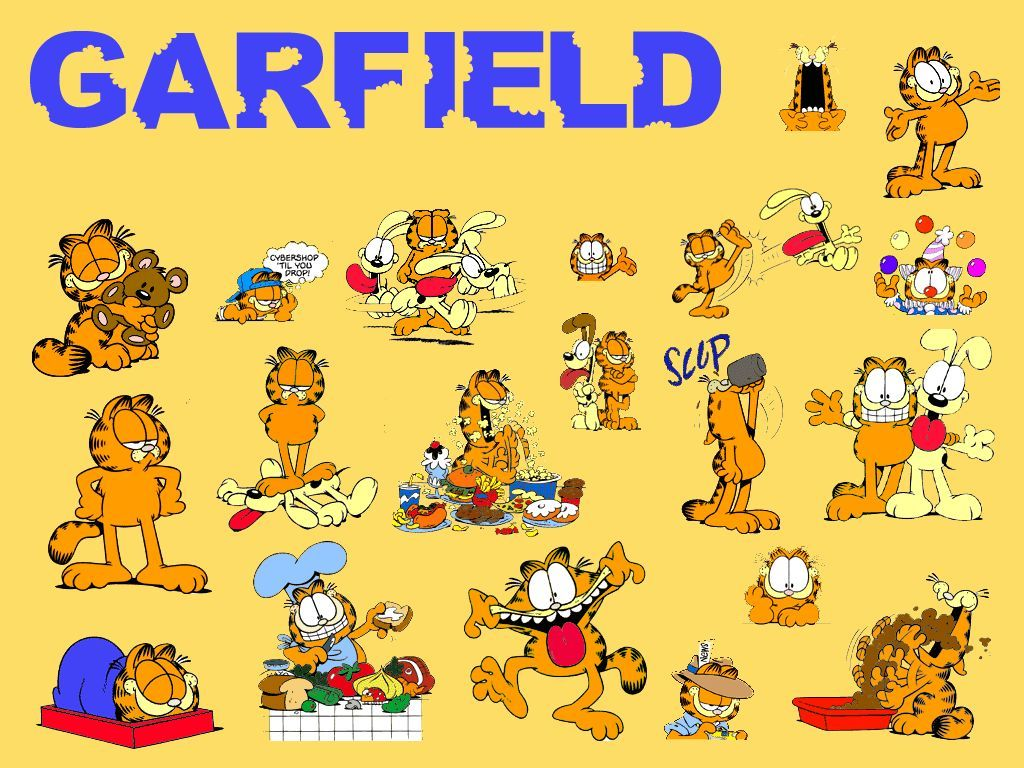 Garfield Images Garfield Wallpapers Wallpaper And Background 1024x768