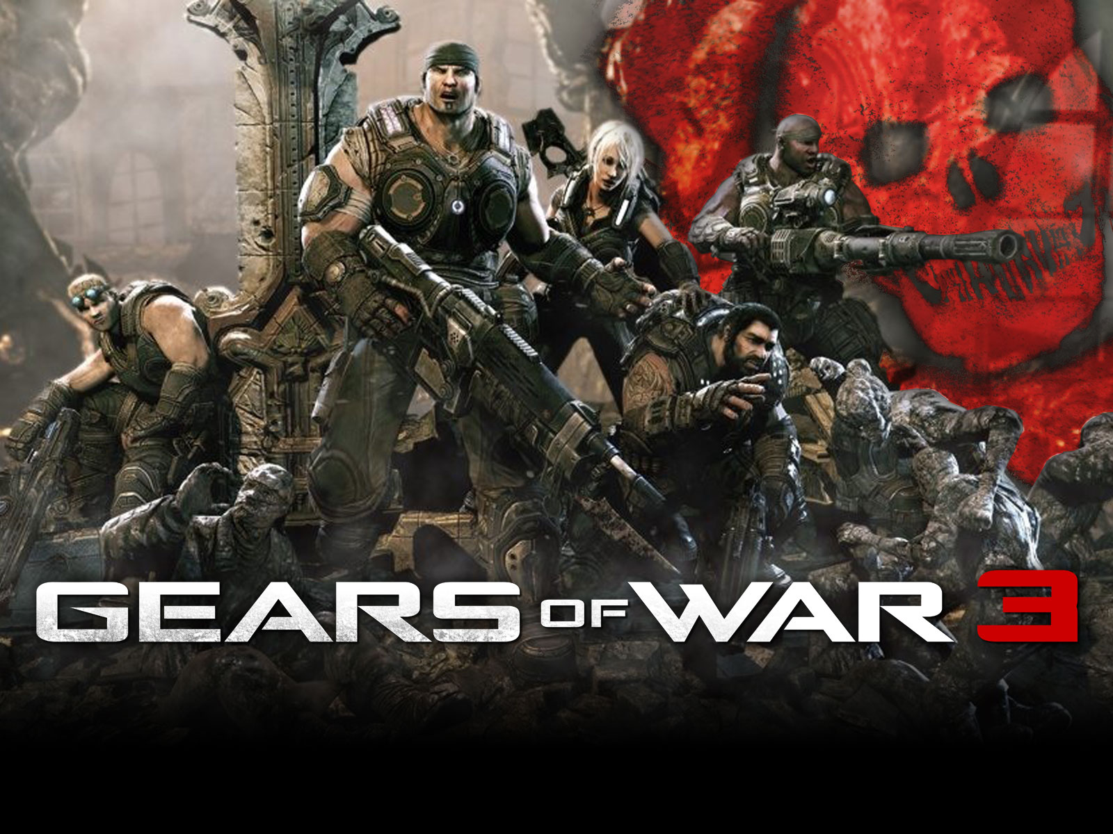 K Ultra HD Gears of war  Wallpapers HD, Desktop Backgrounds 1600x1200