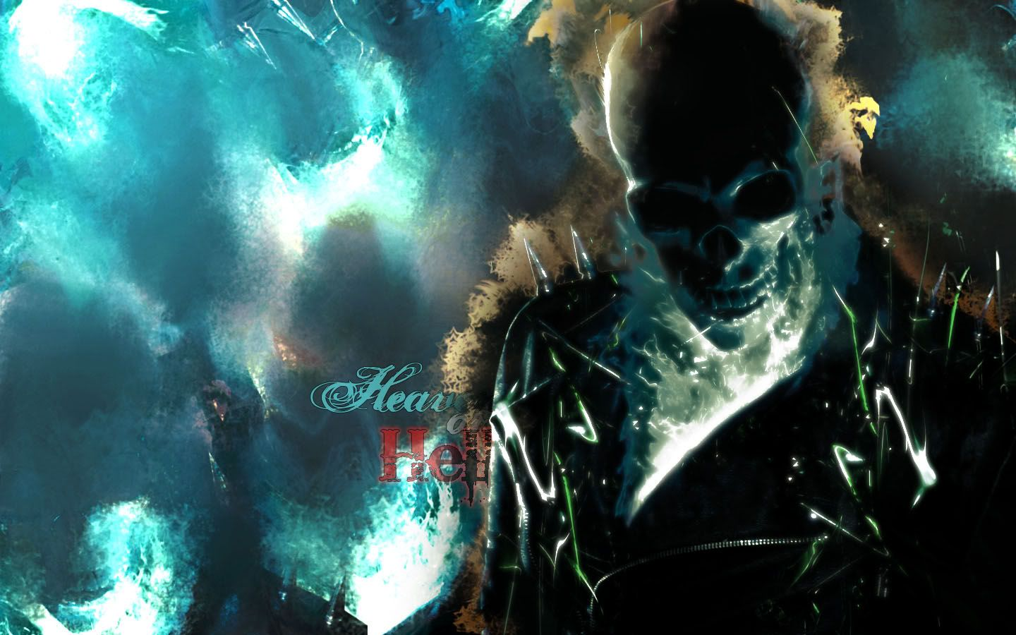 Wide HD Ghost Rider Wallpaper  FLGX HD   Ghost Rider Wallpapers  Wallpaper  1440x900